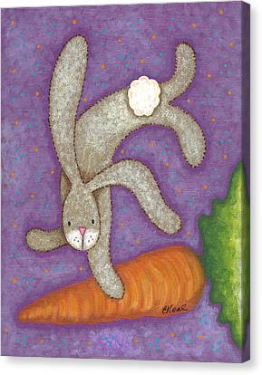 Bunny Bliss Canvas Print
