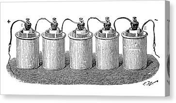 Bunsen Battery Canvas Print