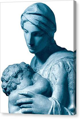 Buonarroti Michelangelo, Medici Canvas Print by Everett