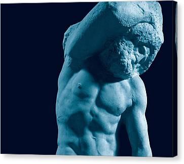 Buonarroti Michelangelo, Prisoner Canvas Print by Everett