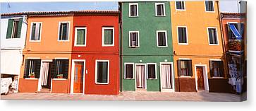 Burano, Venice, Italy Canvas Print by Panoramic Images