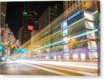 City Scape Canvas Print - Burberry Zoom by Andrew Slater