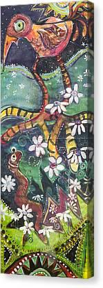 Burden Worm Canvas Print