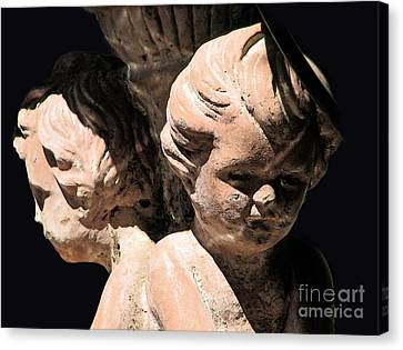 Canvas Print featuring the photograph Burdened By Time by Ellen Cotton