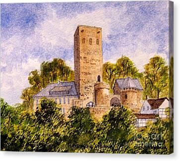 Burg Blankenstein Hattingen Germany Canvas Print by Bill Holkham