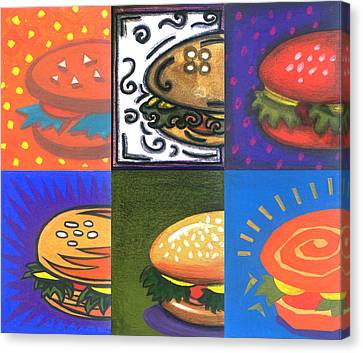Burger Joint Canvas Print by Renu K
