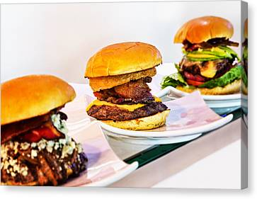 Burger Time Canvas Print by Kelley King