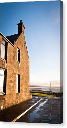 Burghead Canvas Print by Tom Gowanlock