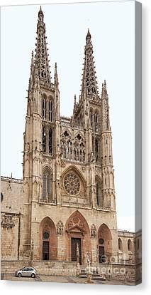 Burgos Cathedral Spain Canvas Print by Rudi Prott