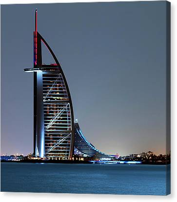 Burj Al Arab Hotel Canvas Print by Babak Tafreshi