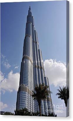Burj Khalifa 1 Canvas Print by Graham Taylor