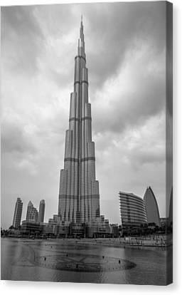 Canvas Print featuring the photograph Burj Khalifa by Robert  Aycock