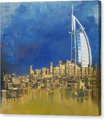 Burj Ul Arab Contemporary Canvas Print