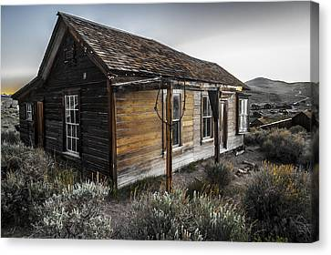 Burkham House Canvas Print by Cat Connor