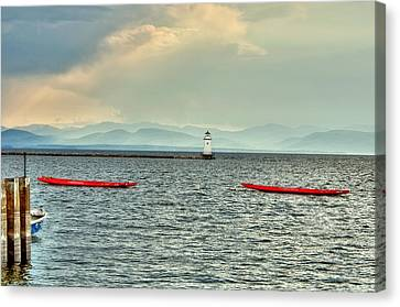 Burlington Light Canvas Print