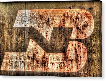 Burlington Northern Canvas Print by JC Findley