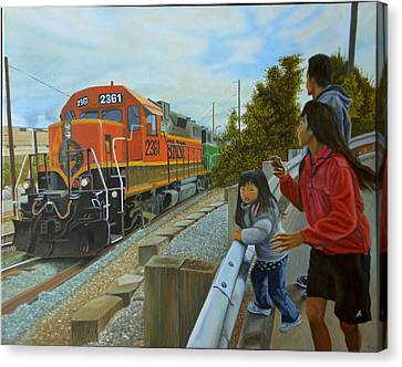 Burlington Northern Santa Fe Canvas Print