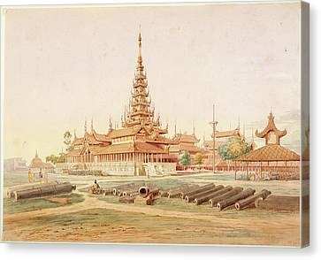 Burmese Landscape Canvas Print by British Library