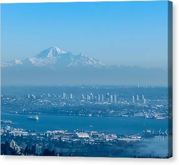 Canvas Print - Burnaby And Baker by R J Ruppenthal