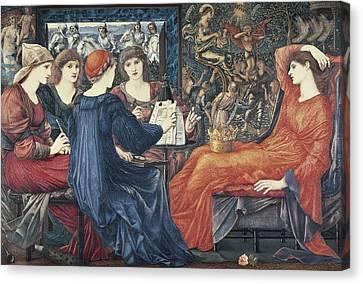 Burne-jones, Edward Coley 1833-1898 Canvas Print by Everett