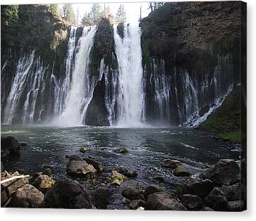 Burney Falls - The Eighth Wonder Of The World Canvas Print by James Rishel