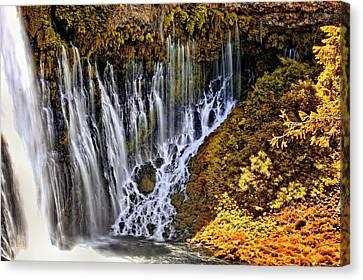 Burney Falls 2 Canvas Print