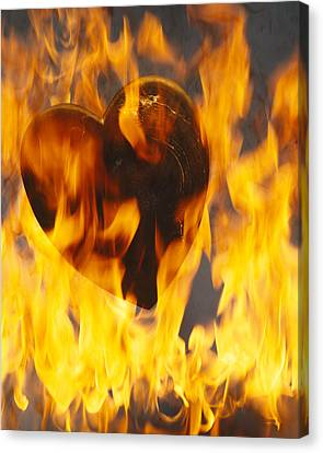 Burning Love C1978 Canvas Print