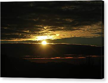 Burning Skies Canvas Print