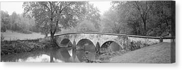 Burnside Bridge Antietam National Canvas Print by Panoramic Images