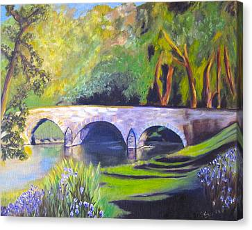 Burnside's Bridge At Antietam Canvas Print