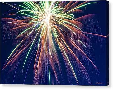 Bursting In Air Canvas Print by Brian Wallace