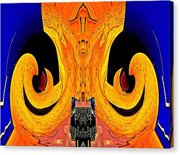 Order From Disorder Canvas Print - Bursting Pod 2013 by James Warren