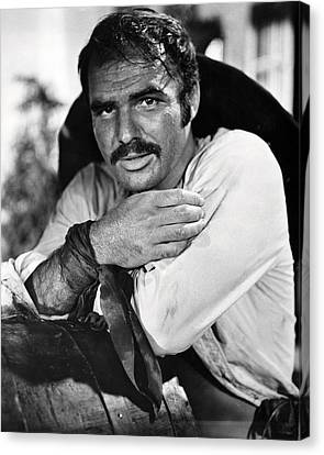 Burt Reynolds In 100 Rifles  Canvas Print