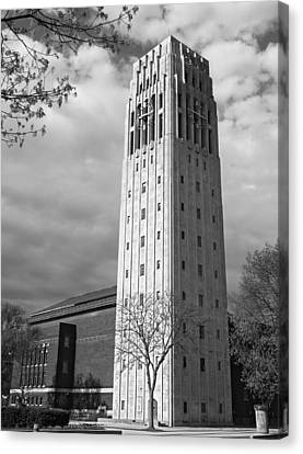 Canvas Print featuring the photograph Burton Tower by James Howe