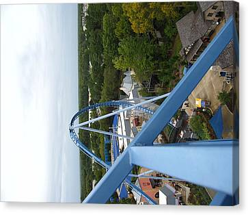 Canvas Print featuring the photograph Busch Gardens - 121214 by DC Photographer