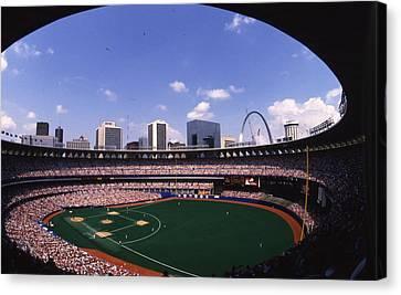 Busch Stadium St. Louis Mo Canvas Print