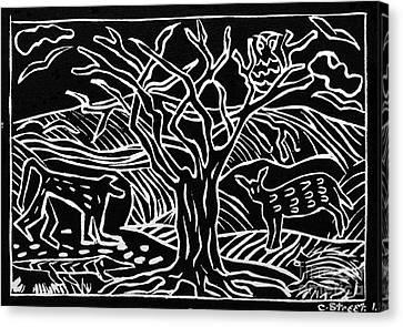 Bushveld Indaba Canvas Print