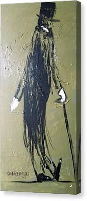 Business Man Canvas Print