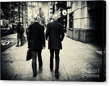 Business Men Canvas Print by Sabine Jacobs