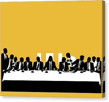 Business Politics Canvas Print by Smetek