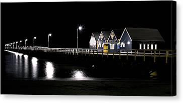 Busselton Jetty Canvas Print by Niel Morley