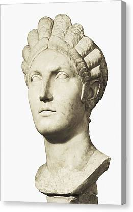 Bust Of Marciana. 1st C. Trajans Canvas Print by Everett