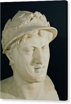 Bust Of Pyrrhus Canvas Print