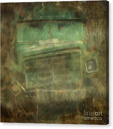 Busted And Broke Canvas Print by Bruce Stanfield