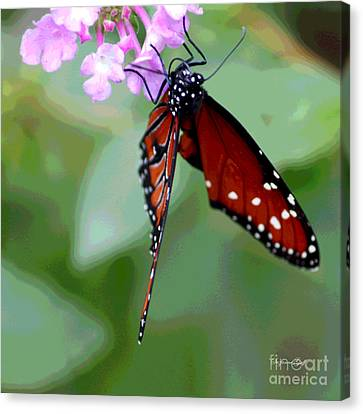 Busy Busy II Canvas Print by Suzanne Gaff
