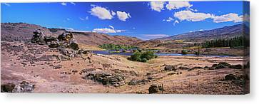 Butchers Dam Close To Alexandra Canvas Print by Panoramic Images