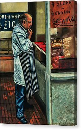 Butchers Profit Canvas Print by Peter Jackson