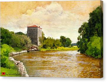Butrint Canvas Print by Catf