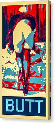 Butt Canvas Print