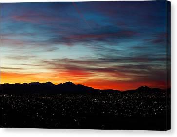Butte America Canvas Print by Kevin Bone